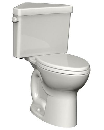 American Standard 270BD001.020 Cadet 3 Corner Toilet