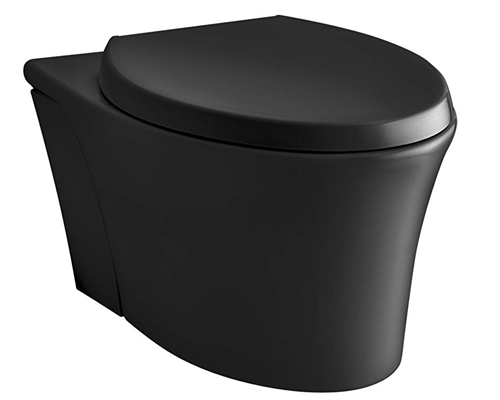 KOHLER K-6299-7 Veil Wall-Hung Elongated Toilet Bowl