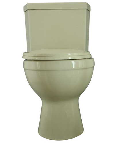 Renovator's Supply Round Bowl Dual Flush Corner Toilet